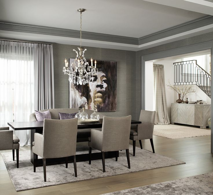 Transitional Dining Room   Leo Designs Chicago »