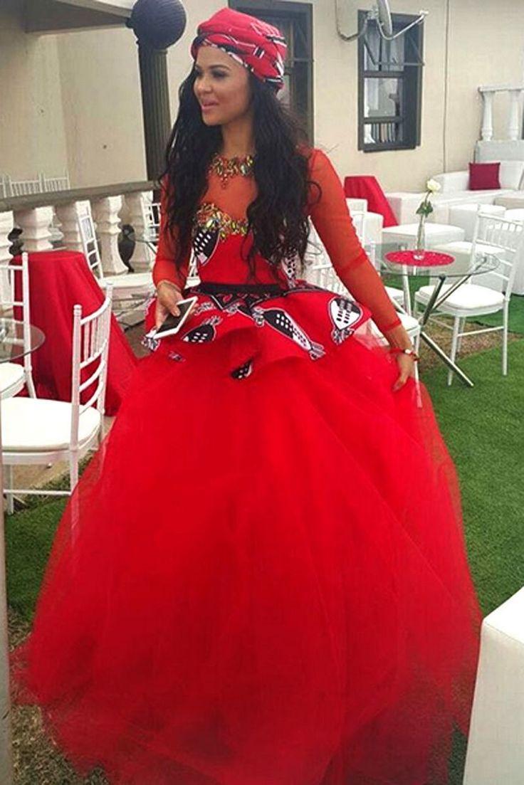 Zulu traditional dress in zulu kraal kwazulu natal - Soccer Star Kagisho Dikgacoi Gets Hitched In Secret Traditional Wedding African