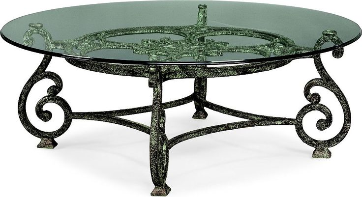Grandview Round Cocktail Table  Grand in scale and substance, Grandview tables…