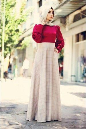 #tesettür #elbise #trend #moda
