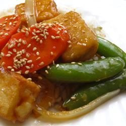 Orange Beef-Style Tofu Stir-Fry. Add Oyster sauce and Mirin for a more authentic taste.