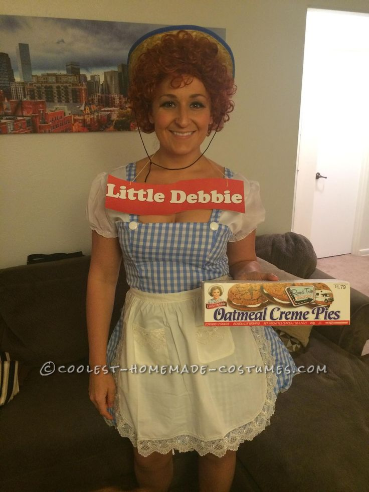 Homemade Little Debbie Costume – Snack Cakes for All!... Coolest Halloween Costume Contest