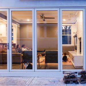 Single Sliding Glass Patio Door