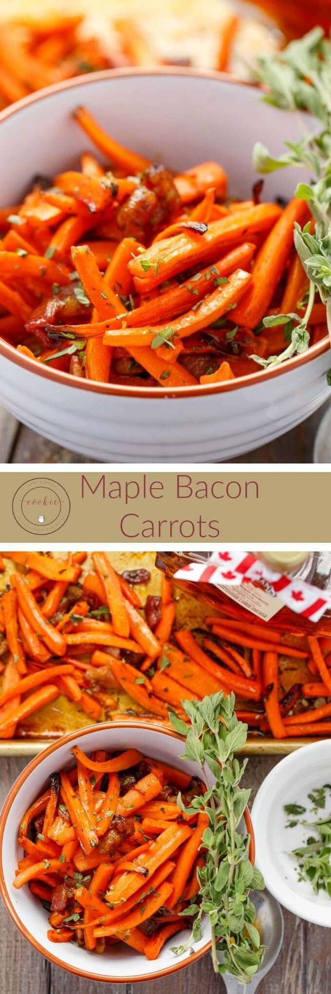 Maple Bacon Carrots