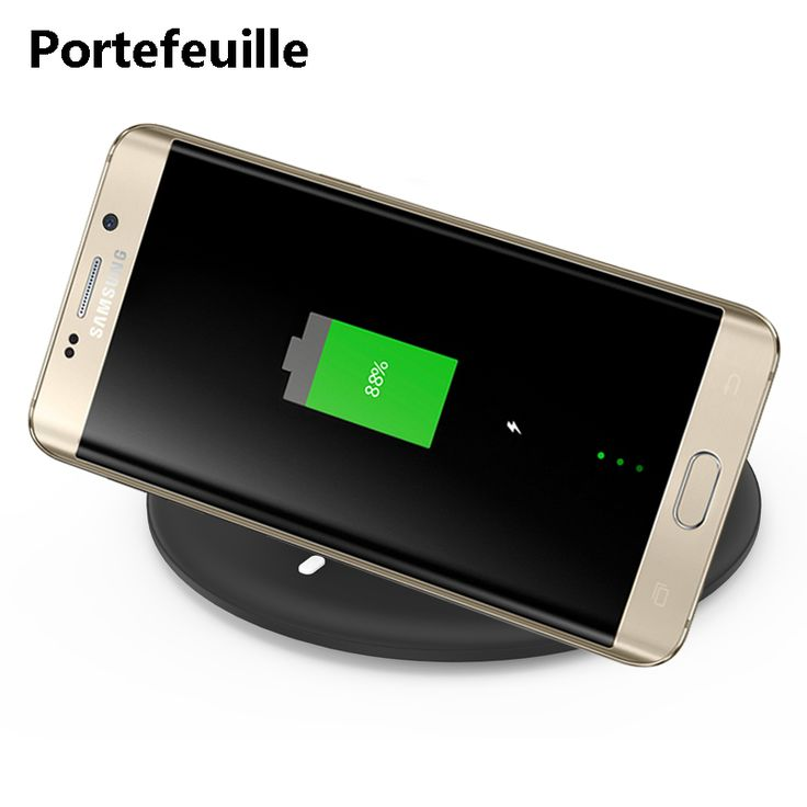 Find More Mobile Phone Chargers Information about Portefeuille 10W QI Wireless Charger Dock Station Charging Pad For Samsung Galaxy S8 Plus Note 8 S7 S6 Fast iPhone 8 8plus X 10,High Quality Mobile Phone Chargers from Geek on Aliexpress.com