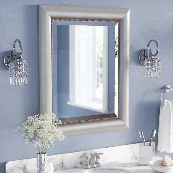 Josefien Curved Silver Bathroom Mirror In 2020 Mirror Wall