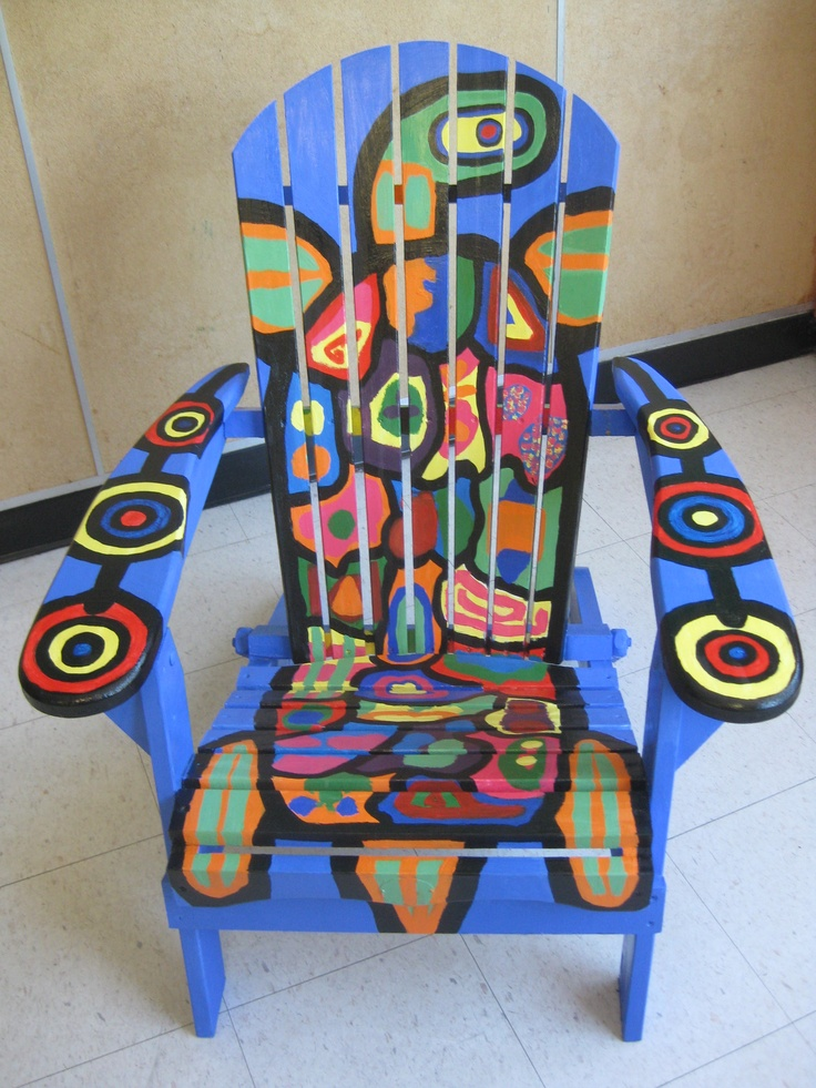 Norval Morrisseau chair
