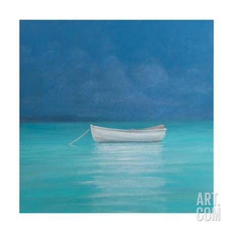 White Boat, Kilifi 2012 Giclee Print by Lincoln Seligman at Art.com (B)