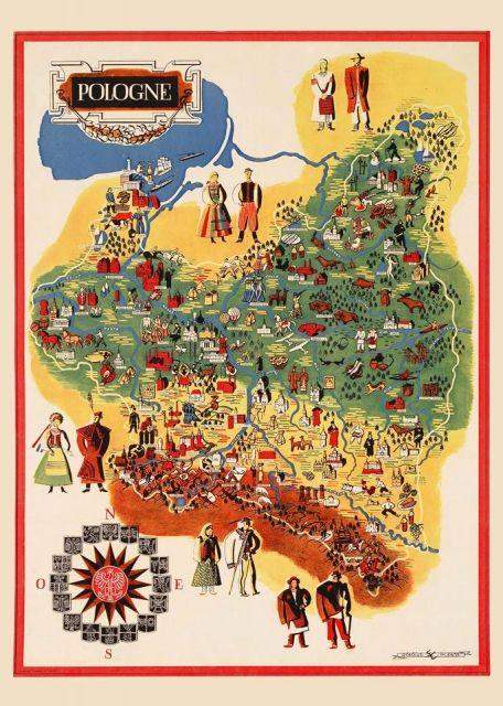 Pologna - przedwojenny.pl Przedwojenny polski plakat z czasów II RP