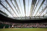 Maria Sharapova under the roof