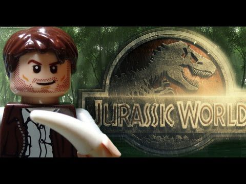 Lego Jurassic World Trailer 2015 - YouTube