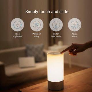 UNIVERSO PARALLELO: Lampada notturna da letto Xiaomi Yeelight