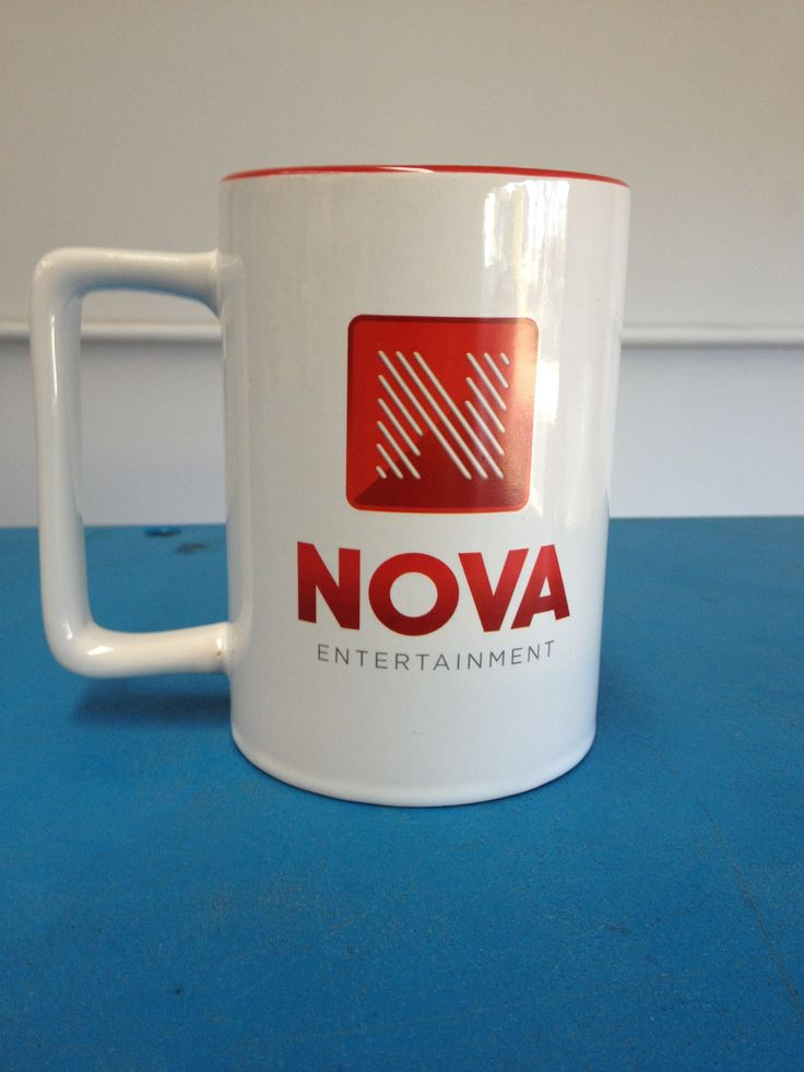 Custom made mug for Nova Entertainment