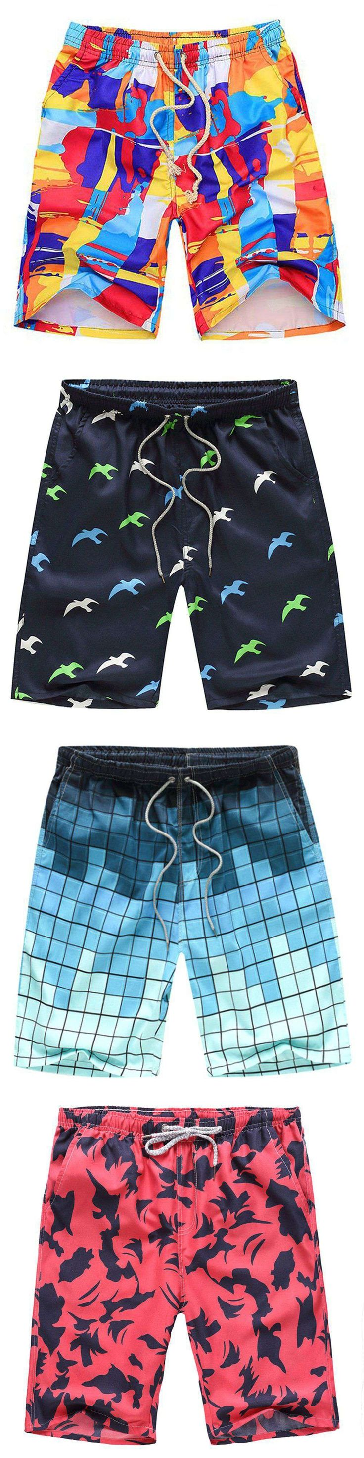 Mens Brand Boardshorts Men Board Short Quick Dry Bermuda Casual Loose Beach Shorts Plus Size Hot