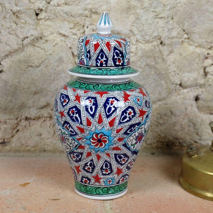 #urne #deco en #ceramique Melis