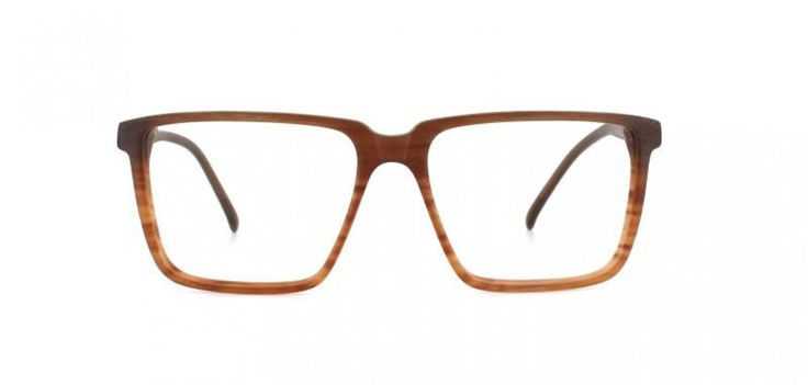 70's BOY I Large square shape reminiscent of the 70´s. The thin cut of the acetate keeps the look light and elegant.  Brown gradient.