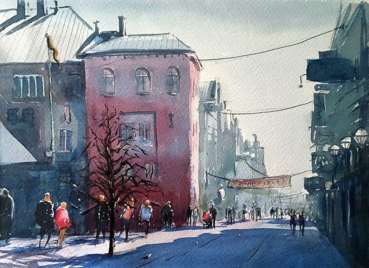 Gågatan, Uppsala. Stefan Gadnell, SÅLD