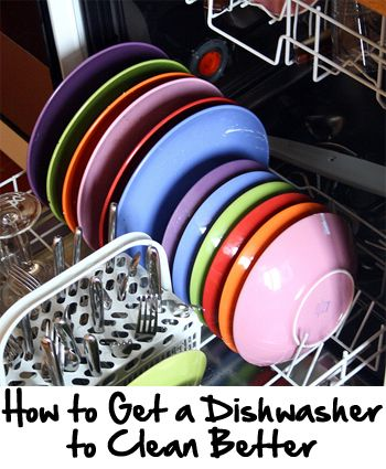 If your dishwasher is not cleaning as well as you would like, here are a few tips to help it clean better.