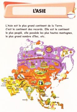 L'ASIE - PRESENTATION - La classe de Corinne