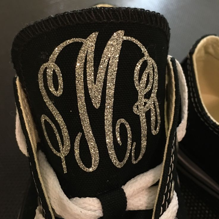 How to Monogram Converse Chuck Taylor Shoes with your Silhouette Cameo