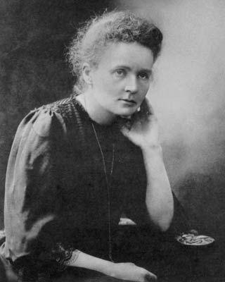 Pesquisadora foi a primeira mulher a ganhar um prêmio Nobel, um dos mais importantes do mundo
