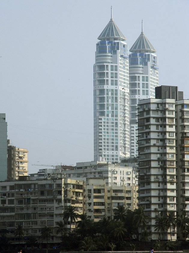 The Imperial is a twin-tower residential skyscraper complex in Mumbai(61-floores)