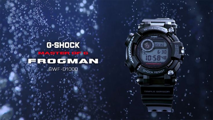 Liked on YouTube: CASIO G-SHOCK [GWF-D1000]  FROGMAN #laurentistigliani #shoppingtrieste #diamanti #gioielli #oro #orologi #trieste