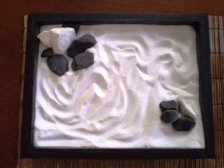 Miniature zen garden, handmade and customised to your preferences!