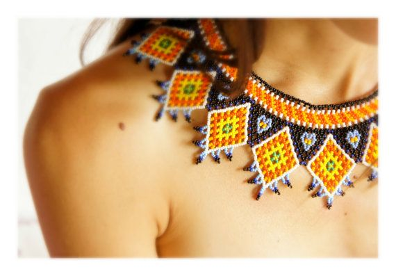 Reminds me of the necklaces I saw sold on the streets all around Mexico...