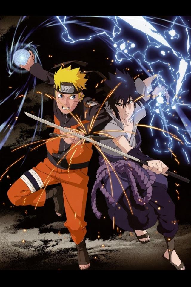 Naruto vs sasuke forever !!