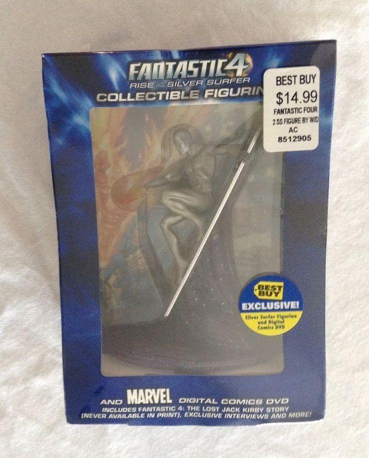 Silver Surfer Collectible Figurine Marvel Digital Comics Dvd Best Buy