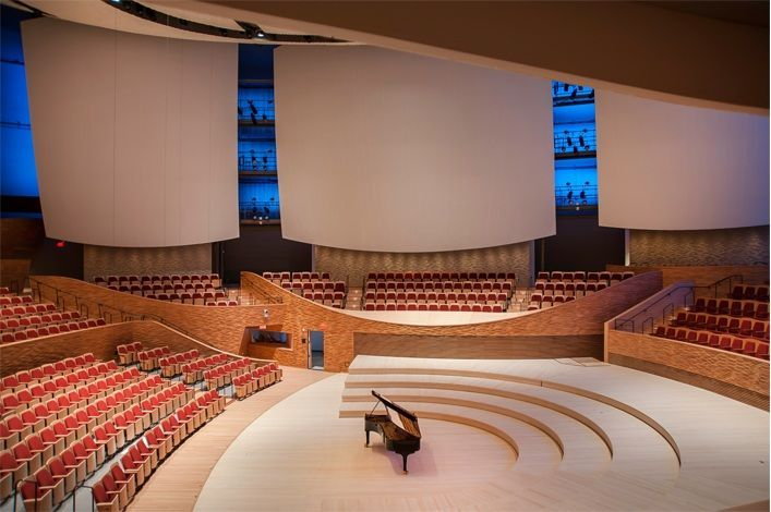 Bing Concert Hall, Stanford University, Stanford, California, United States - Richard Olcott of Ennead Architects