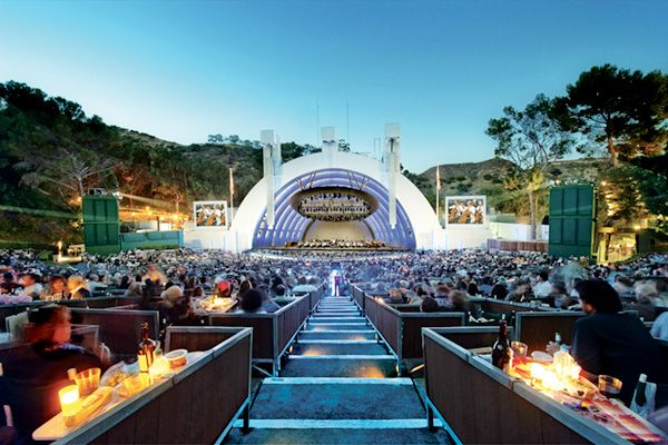 7 Perfect L.A. Date Spots {like a picnic at the Hollywood Bowl!}