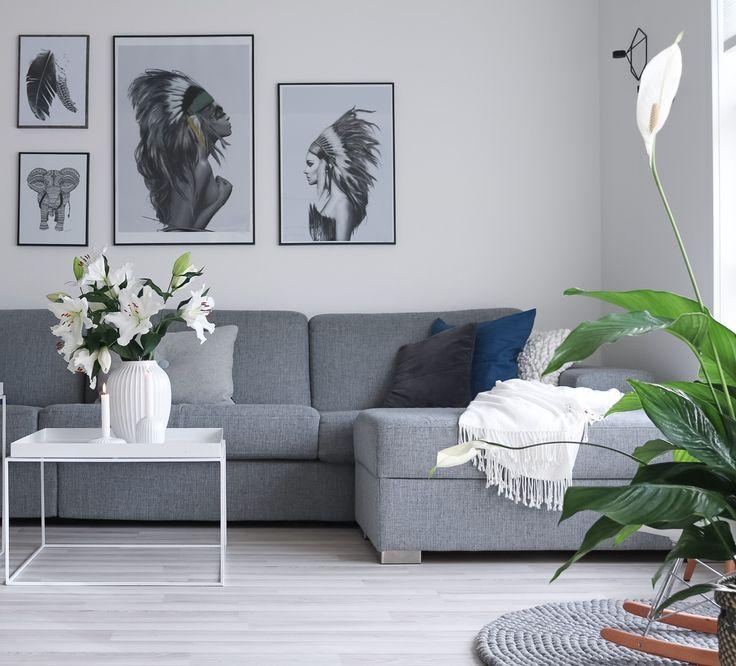Instagram: @hvitelinjer  #interior #inspiration #livingroom #nordicstyle #scandinavian #kähler #design #kahler