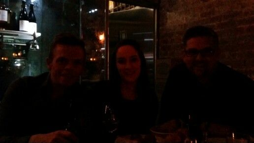 Night before salesforce1 event in Melbourne.