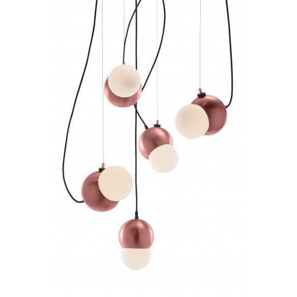 "VISO's ""Maggie"" cluster in the colour Brushed Copper."