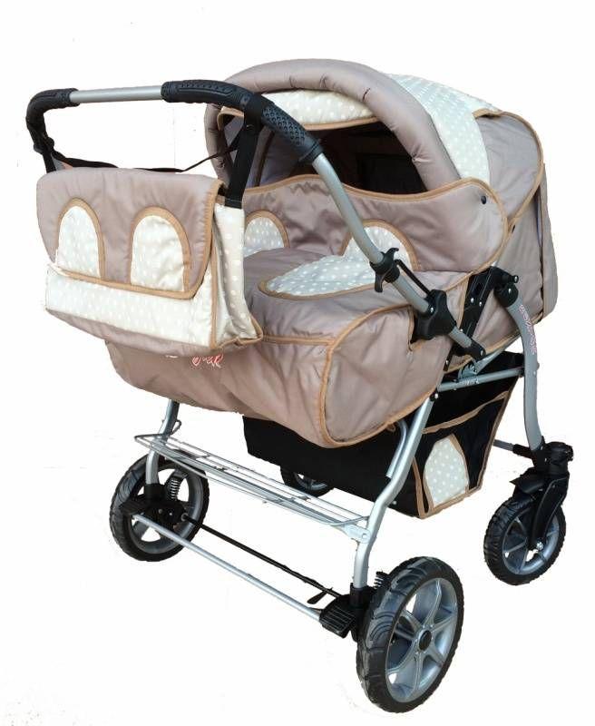 Детская коляска для двойни Verdi BAJTEK 08  Цена: 195 USD  Артикул: tw4790   Подробнее о товаре на нашем сайте: https://prokids.pro/catalog/kolyaski/kolyaski_dlya_dvoyni/detskaya_kolyaska_dlya_dvoyni_verdi_bajtek_08/
