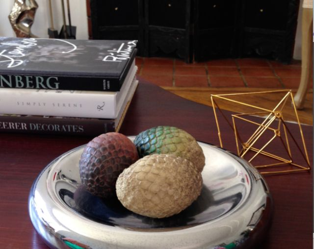 Anxiously waiting for these Game of Thrones dragon eggs to hatch!