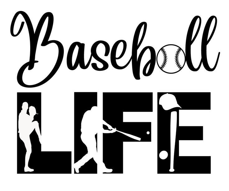 Download Free Baseball Life SVG File in 2020   Cricut, Svg