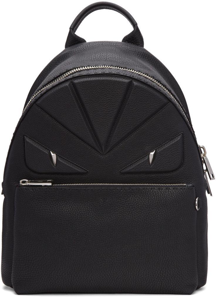 Fendi - Black 'Bag Bug' Backpack