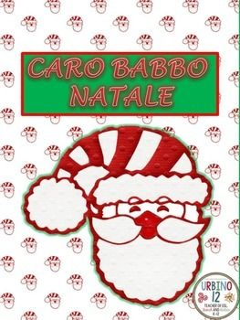 File contains four different templates for writing a letter to Santa Claus. One template is black and white ink friendly.SCOPO: To write a letter to Santa -in italiano certamente! May be done either individually or as a class.The perfect letter to Santa will include...Greeting and introductionThank Santa for last year's presentAsk for what you want this ChristmasExplain good things you've done this yearApologize for bad things you've done this yearClosingCredit to:1) Teaching For Fun for…