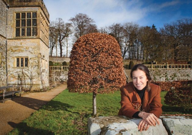 Lady Edward Manners at Haddon Hall  Photo: Ashley Franklin