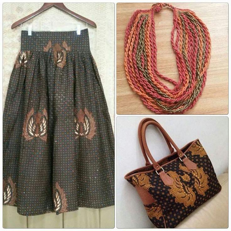 Batik day costum