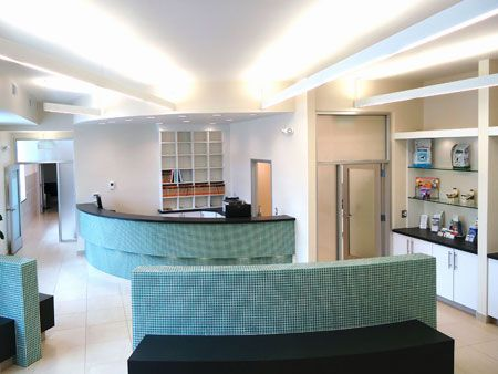 60 best Reception areas: Veterinary hospital design images on ...
