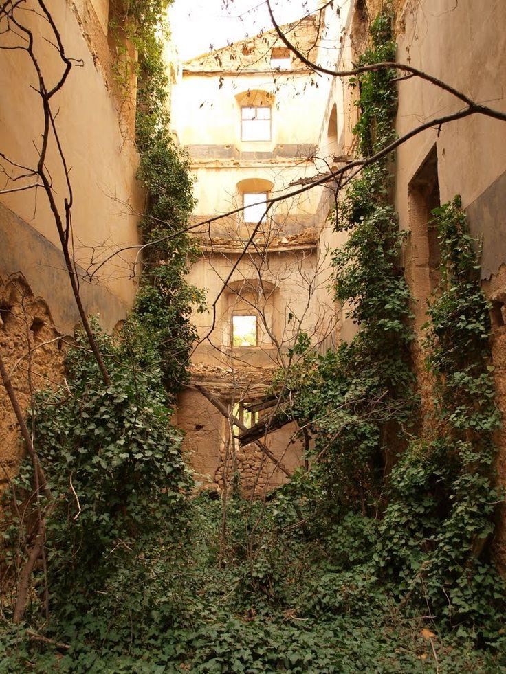 Convento del Desierto de Calanda. Fotografía de Anjolm, 2010, publicada originalmente en Panoramio (servicio de Google desaparecido)
