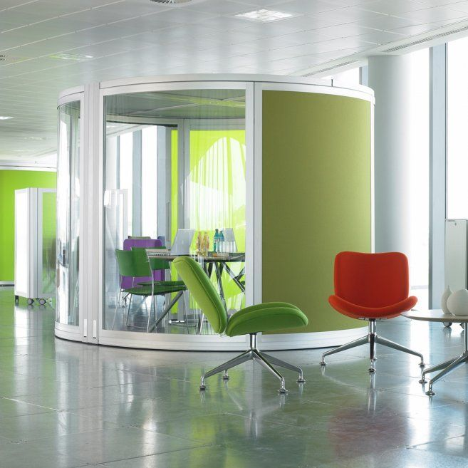 another orangebox airea meeting pod library spaces and