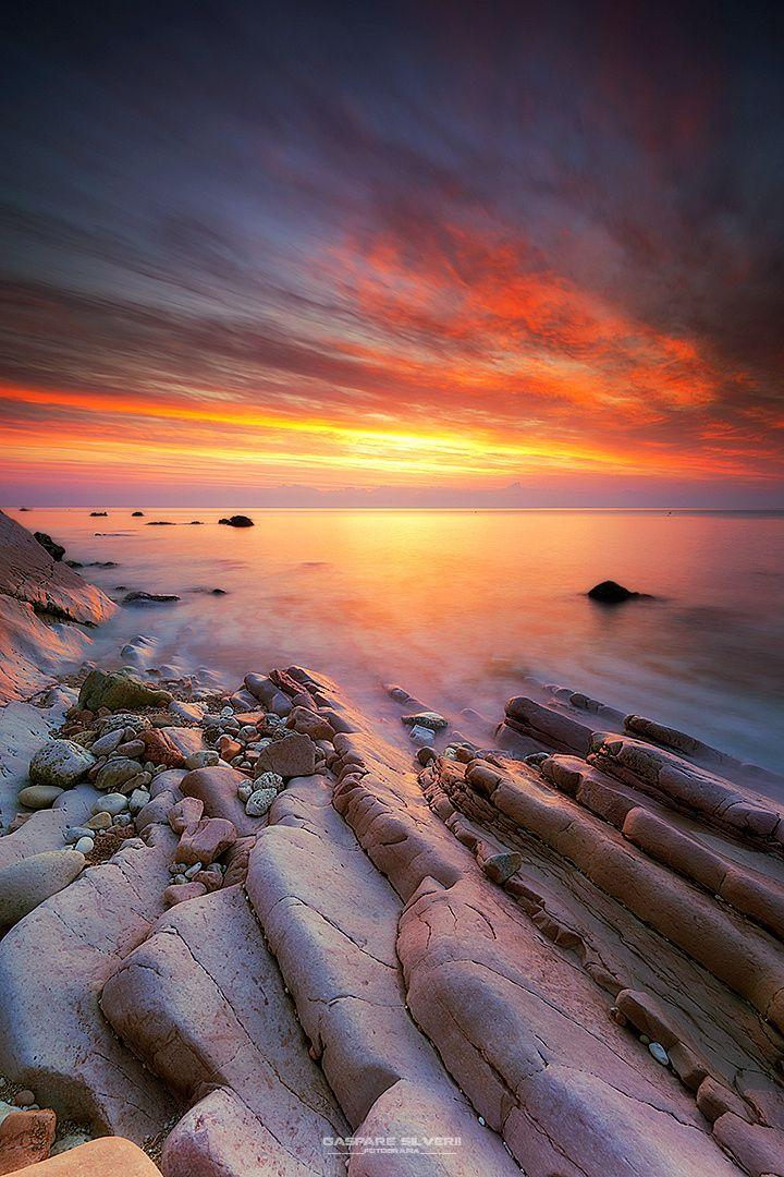 And there was Light - Sassi Neri (Riviera del Conero) by Gaspare Silverii Fotografia on 500px