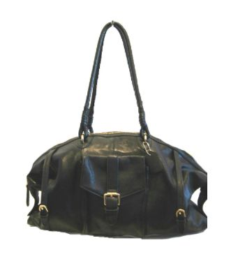 Tamara Black Shoulder Bag