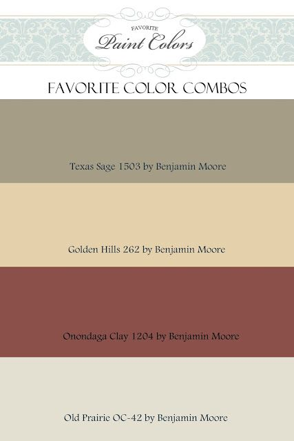 Another great color combination that would flow together in any home. I include colors that I love, as well as those that I have been asked about by my readers. Not seeing something you love? Send ...