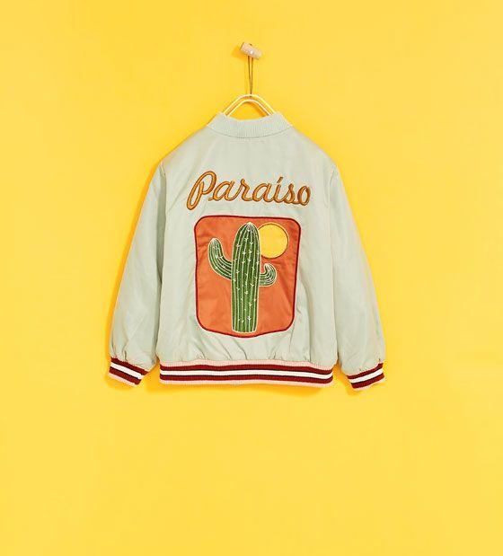Image 1 of PARADISE BOMBER JACKET from Zara